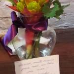 Flores para Erika Balbino