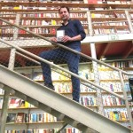 Paulo Branco Lima no lançamento realizado no espaço icónico da Livraria Ler Devagar