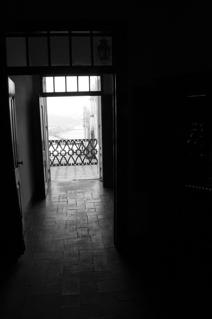 Uma janela entreaberta