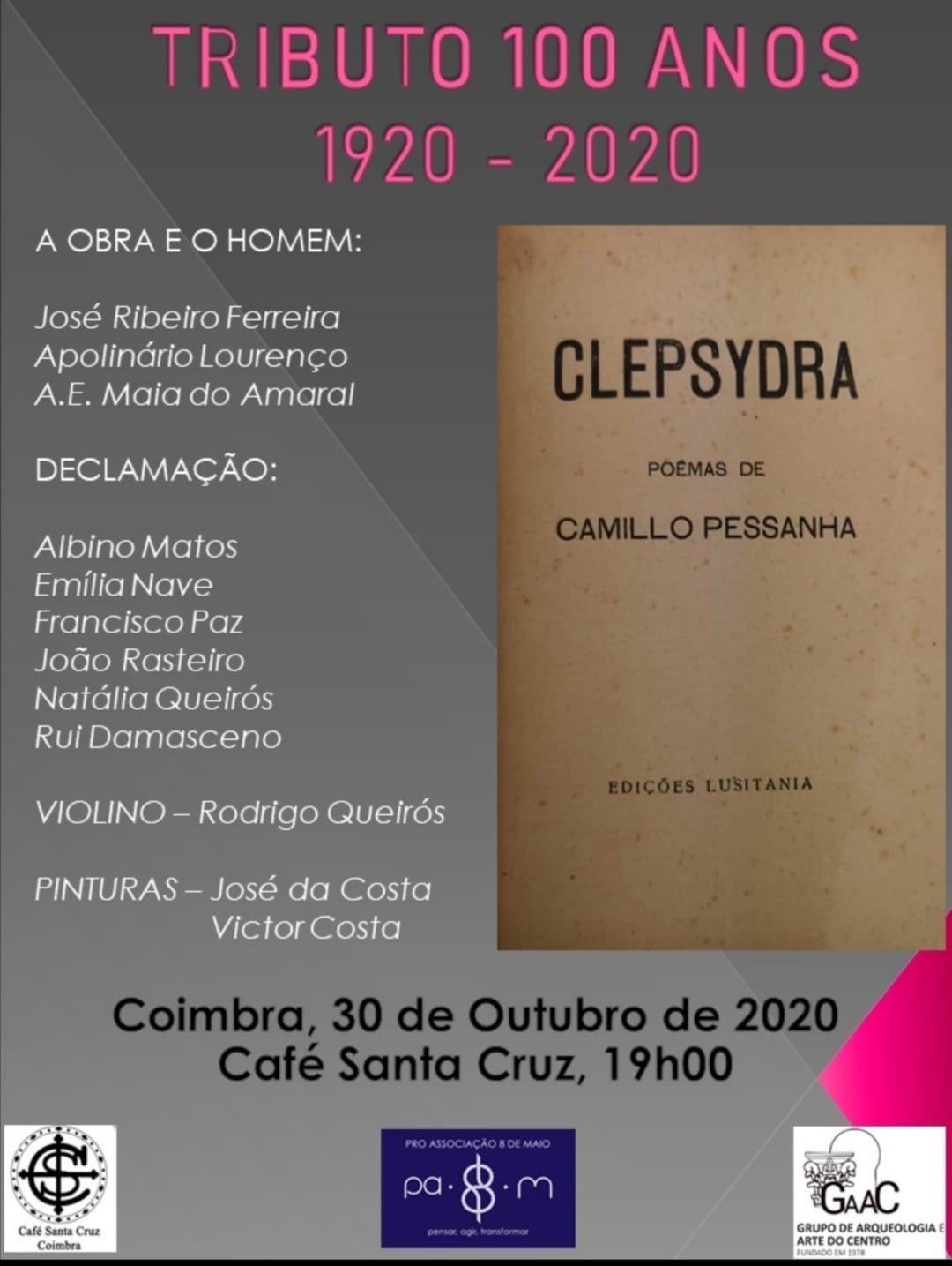 Tributo 100 anos_Clepsidra_301020_Café Santa Cruz_Coimbra
