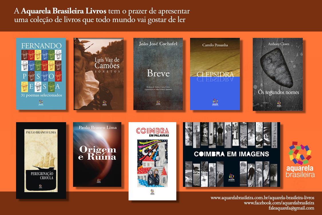 Coleção Livros Portugal_Aquarela