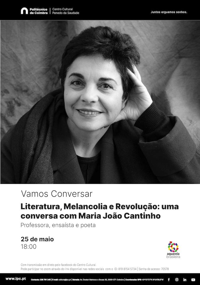 Vamos Conversar_Maria João Cantinho_cartaz_redux
